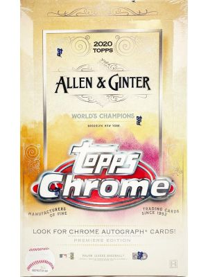 2020 TOPPS ALLEN & GINTER CHROME BASEBALL