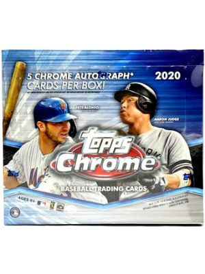 2020 TOPPS CHROME BASEBALL (JUMBO)