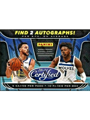 2020/21 PANINI CERTIFIED BASKETBALL