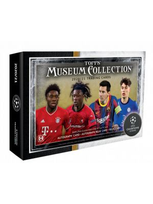 2020/21 TOPPS MUSEUM COLLECTION UEFA CHAMPIONS LEAGUE SOCCER