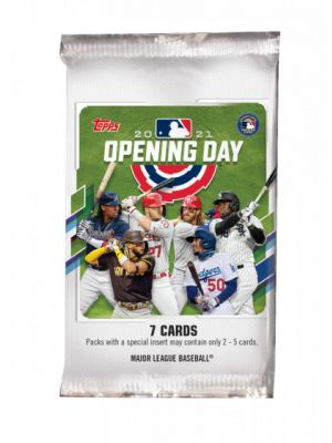 2021 TOPPS OPENING DAY BASEBALL PACK