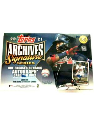 2021 TOPPS ARCHIVES SIGNATURE SERIES BASEBALL (ACTIVE PLAYER EDITION)