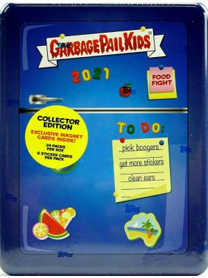 2021 TOPPS GARBAGE PAIL KIDS 1 (COLLECTOR'S EDITION)