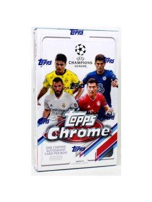 2020/21 TOPPS CHROME UEFA CHAMPIONS LEAGUE SOCCER