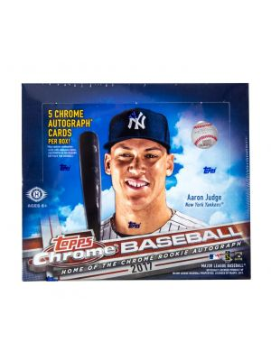 2017 TOPPS CHROME BASEBALL (JUMBO)