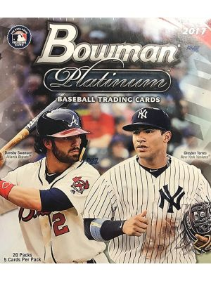 2017 BOWMAN PLATINUM BASEBALL