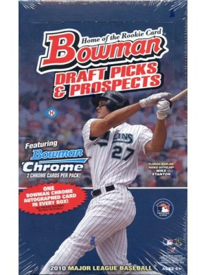 2010 BOWMAN DRAFT PICKS & PROSPECTS BASEBALL