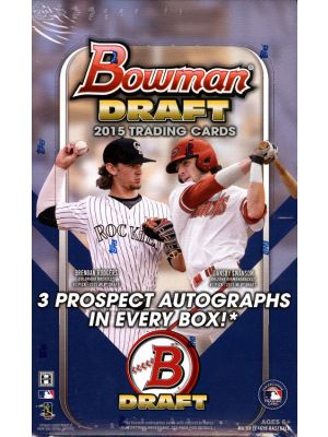2015 BOWMAN DRAFT BASEBALL (JUMBO)