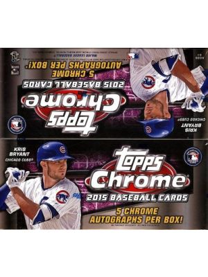 2015 TOPPS CHROME BASEBALL (JUMBO)