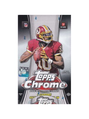 2012 TOPPS CHROME FOOTBALL