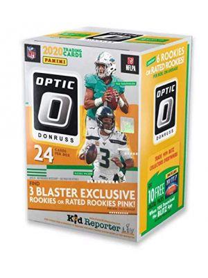 2020 PANINI DONRUSS OPTIC FOOTBALL (BLASTER / NO BOX, *ALL 6 PACKS FROM SAME BOX)