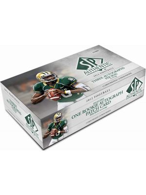 2012 UPPER DECK SP AUTHENTIC FOOTBALL