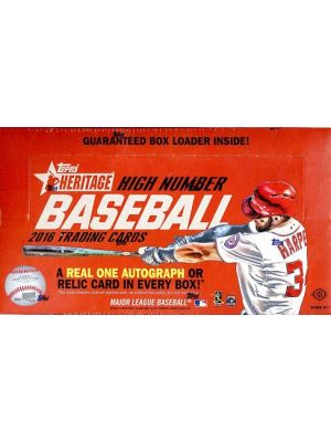 2016 TOPPS HERITAGE HIGH NUMBER BASEBALL