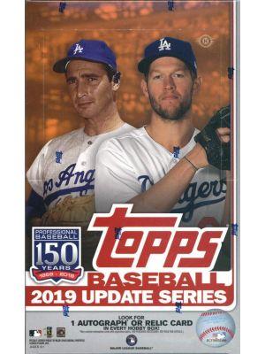 2019 TOPPS UPDATE BASEBALL