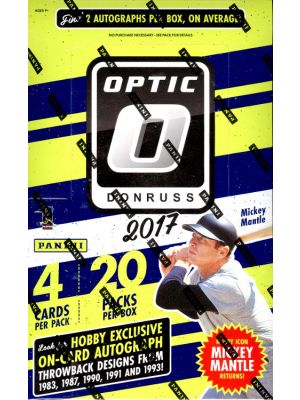 2017 PANINI DONRUSS OPTIC BASEBALL