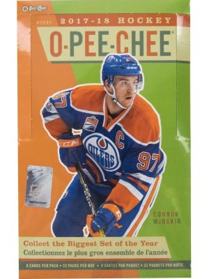 2017/18 UPPER DECK O-PEE-CHEE (OPC) HOCKEY