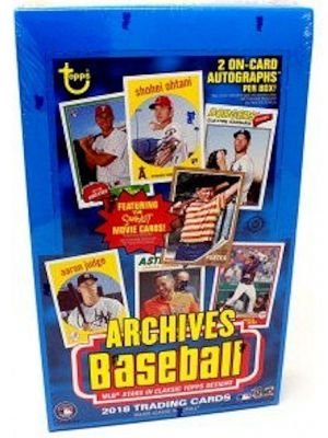 2018 TOPPS ARCHIVES BASEBALL