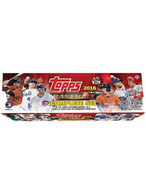 2016 TOPPS BASEBALL SET (HOBBY VERSION)