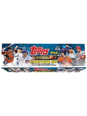 2016 TOPPS BASEBALL SET (RETAIL VERSION)