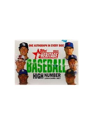 2013 TOPPS HERITAGE HIGH NUMBERS BASEBALL SET