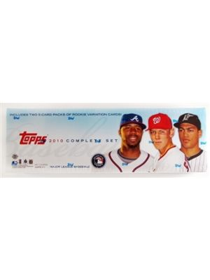 2010 TOPPS BASEBALL SET (HOLIDAY VERSION)