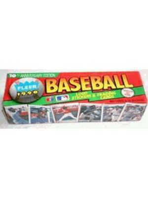 1990 FLEER BASEBALL SET (COLORFUL)