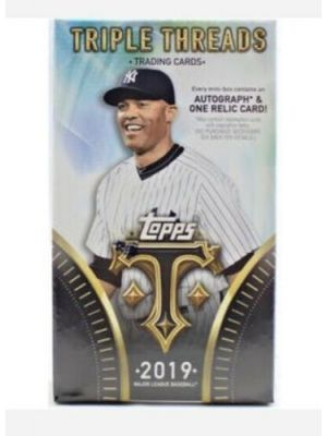 2019 TOPPS TRIPLE THREADS BASEBALL (MINI BOX)