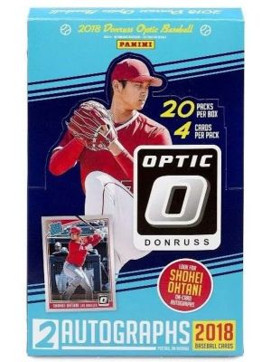 2018 PANINI DONRUSS OPTIC BASEBALL