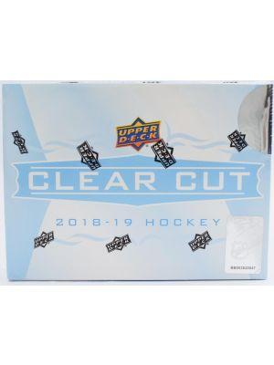 2018/19 UPPER DECK CLEAR CUT HOCKEY