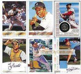 2003 Topps Gallery Baseball Hall Of Fame Edition