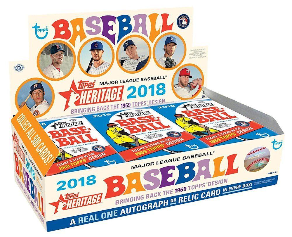2018 Topps Heritage Baseball