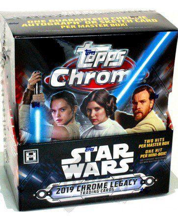 2019 Topps Chrome Star Wars Legacy REFRACTOR Singles-Vous Choisissez