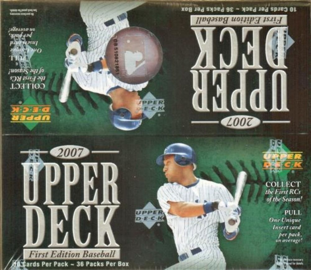 2007 Upper Deck First Edition Baseball