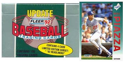 1992 Fleer Update Baseball Set