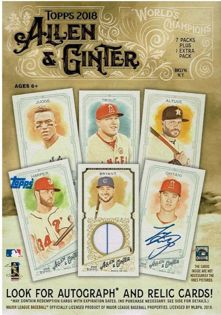 2018 Topps Allen Ginter Baseball Blaster