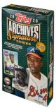 2020 TOPPS ARCHIVES SIGNATURE SERIES BASEBALL (RETIRED PLAYER EDITION)