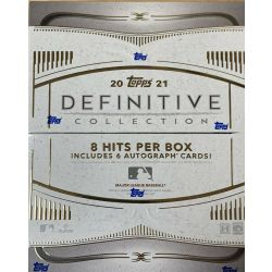 2021 TOPPS DEFINITIVE COLLECTION BASEBALL