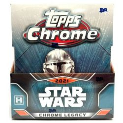 2021 TOPPS STAR WARS CHROME LEGACY